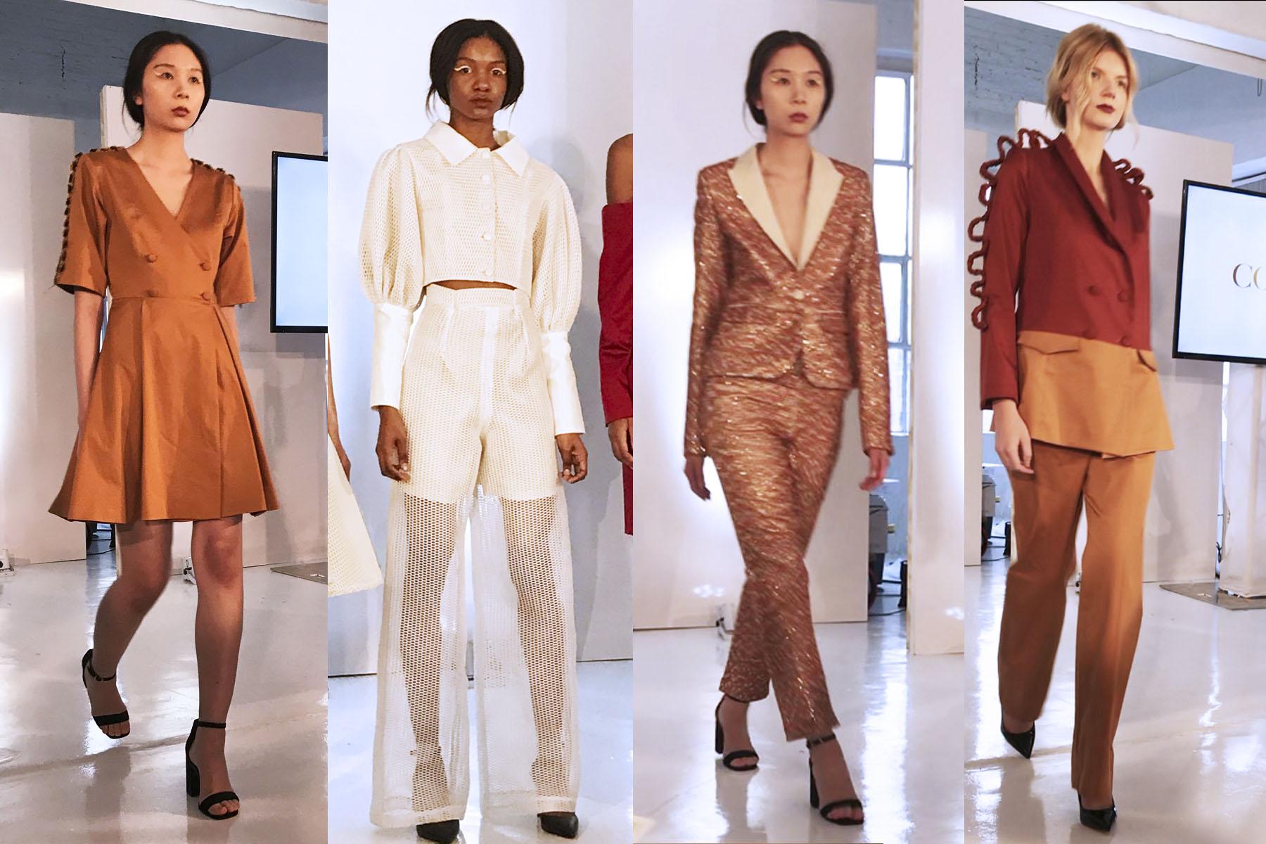 NYFW 2018 Colour fashion label runway show
