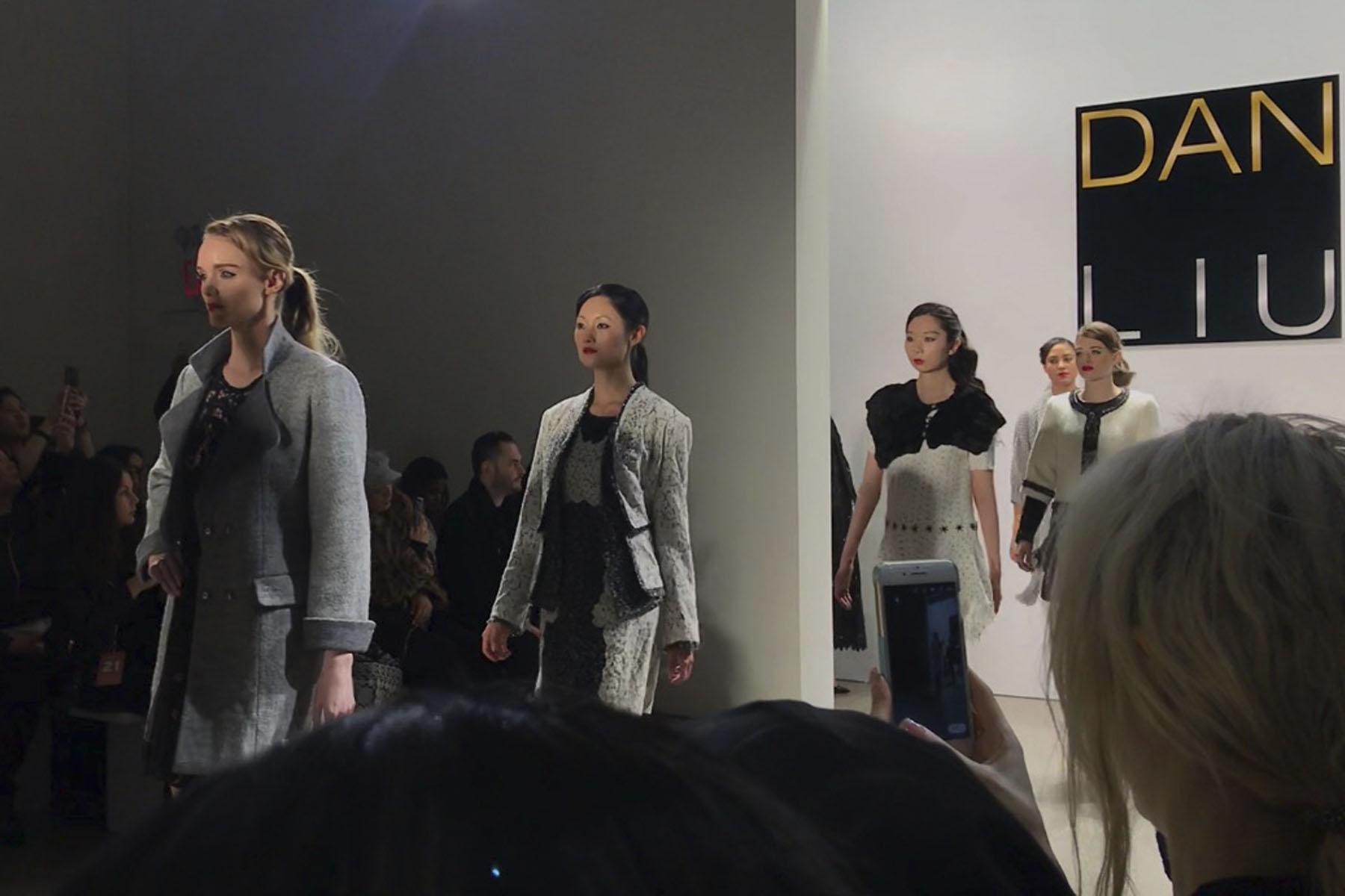 Dan Liu runway finale