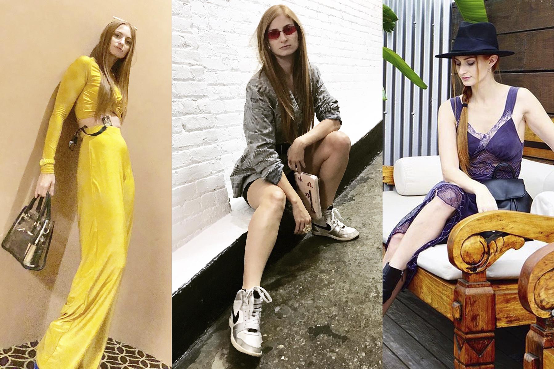 Erin Leigh She's Red Haute S/S 2019 NYFW looks - NYFW Recap