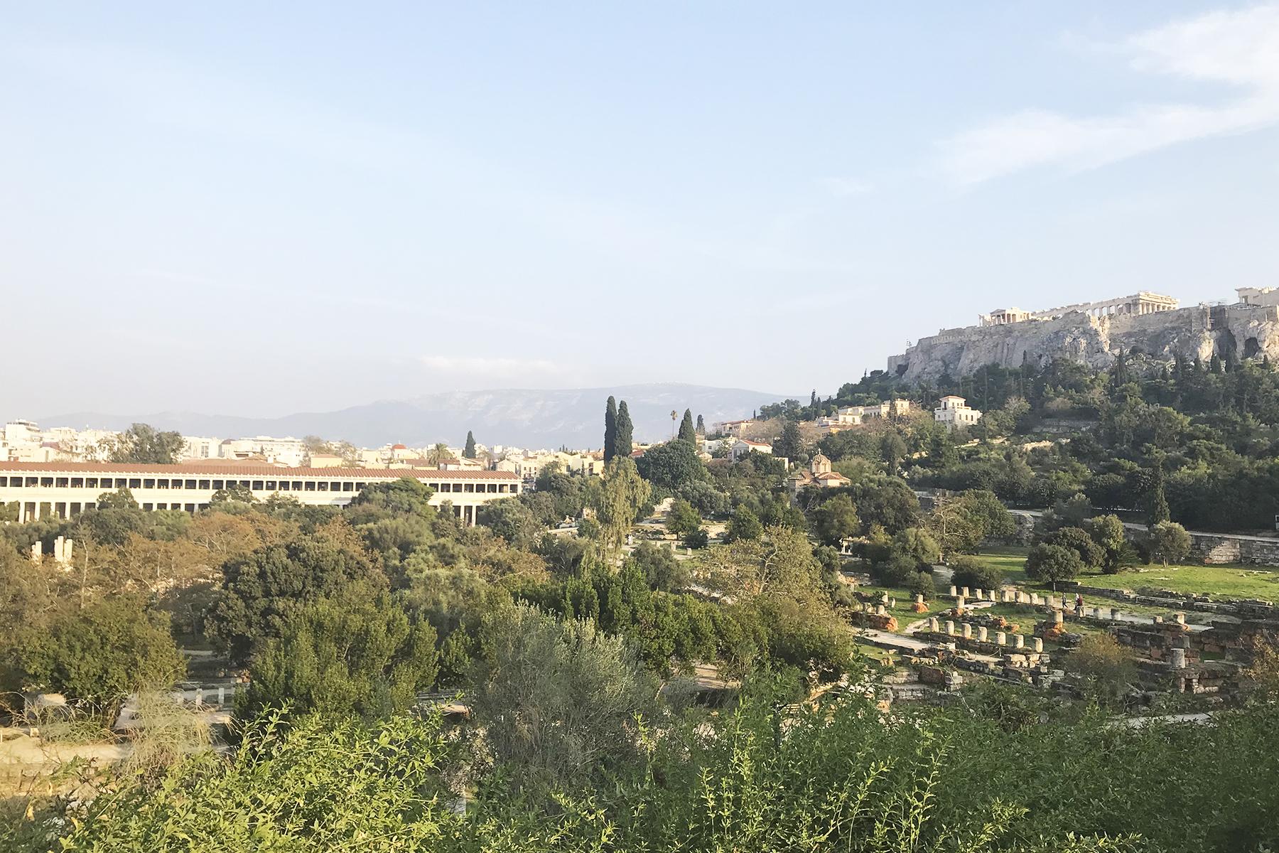 Athen's City View