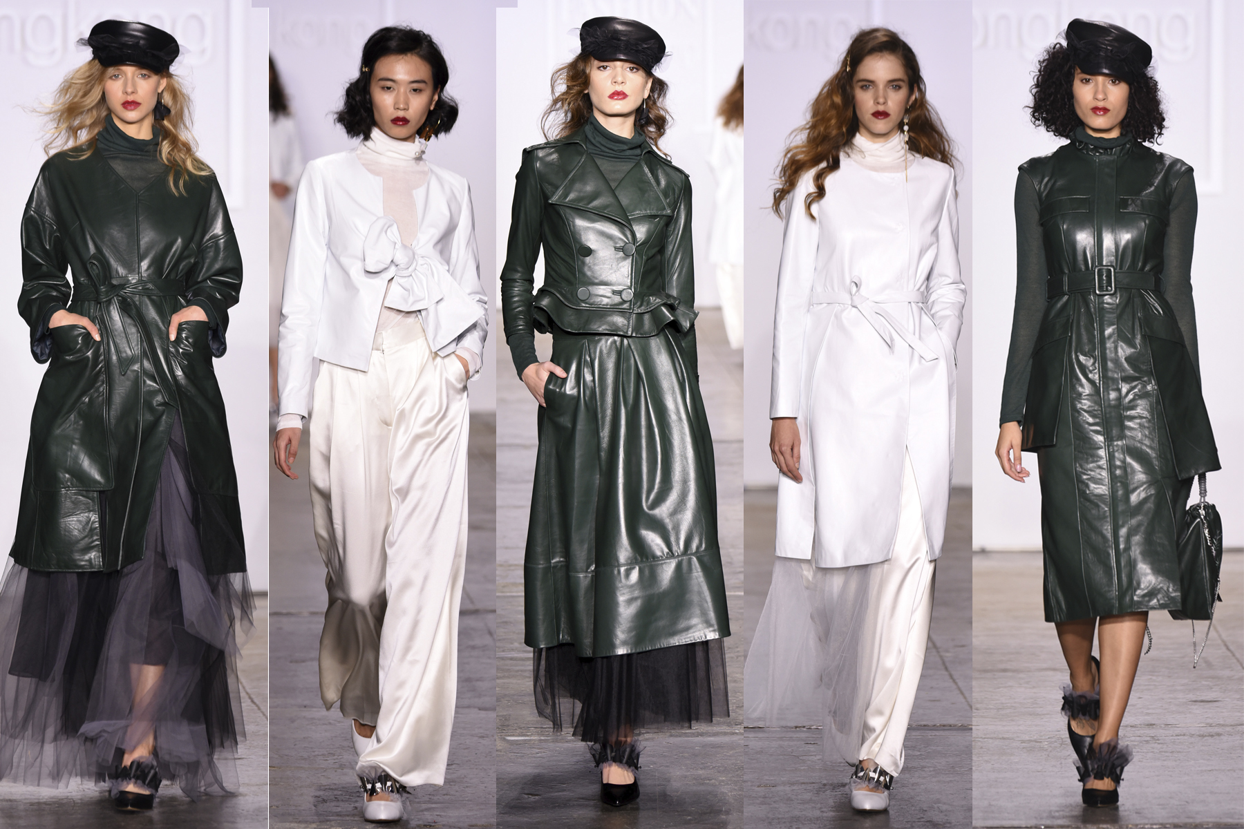 Anveglosa NYFW FW 2019 runway looks as favorited by Erin Leigh of She's Red Haute