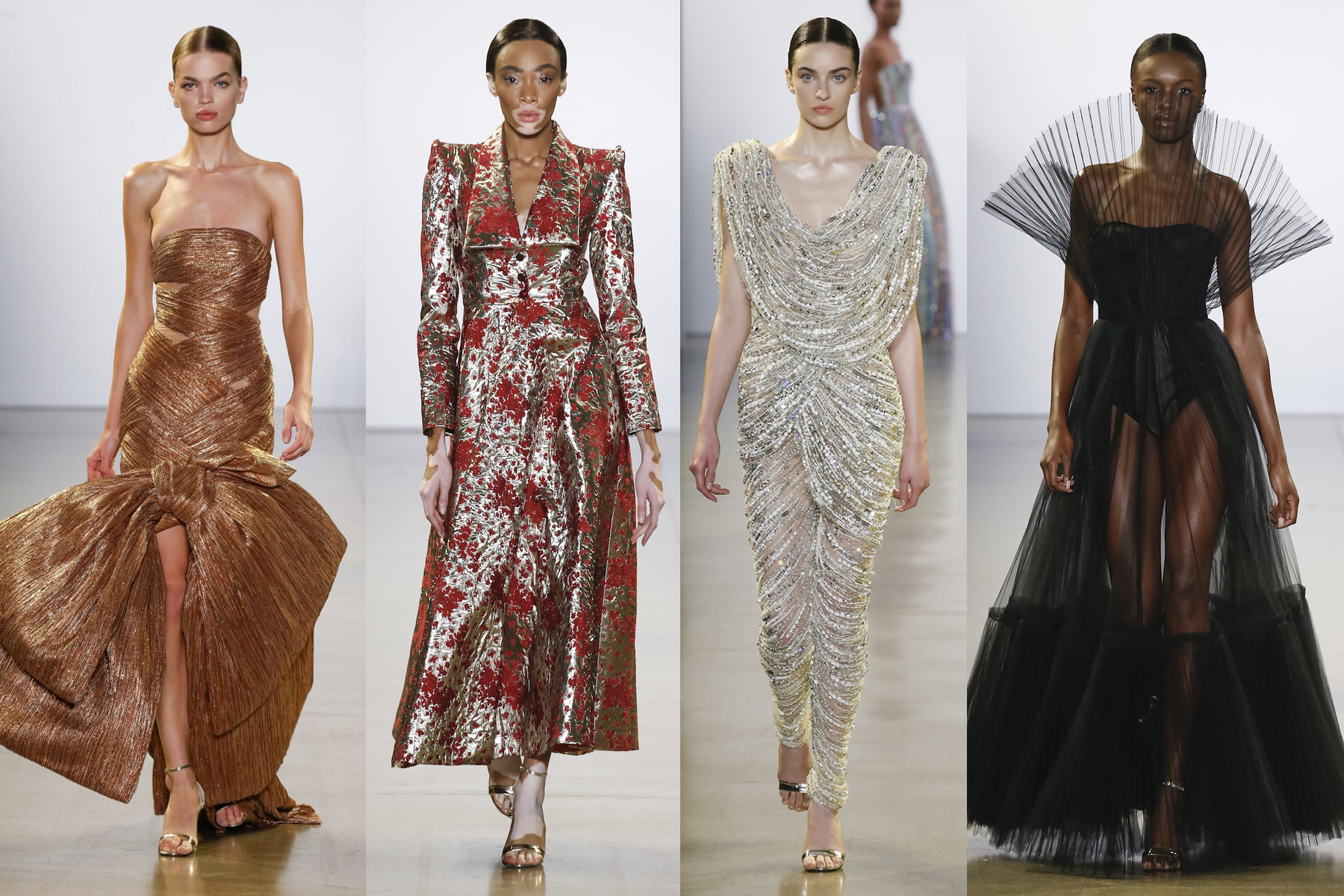 Cong Tri NYFW FW 2019 runway looks as favorited by Erin Leigh of She's Red Haute